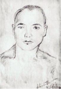 Autoritratto di Aligi Sassu (1912-2000)