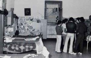 Foto di interni della Castiglia nel 1978 (Foto Alberto Gedda)