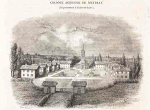Colonia agricola di Mettray visitata da Eandi (Archivio Cesare Burdese)