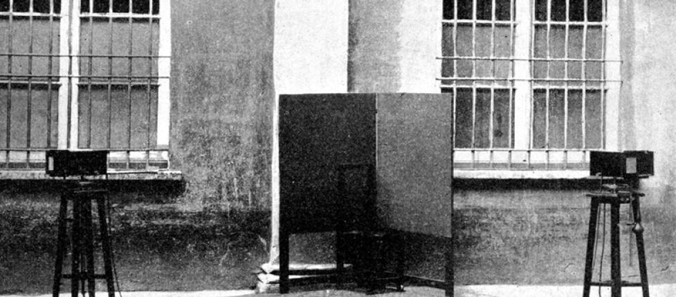 Le macchine fotografiche chiamate Gemelle Ellero (1908)