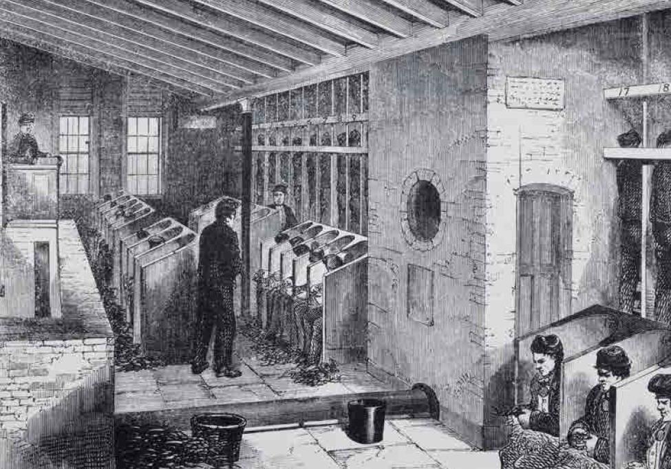 Latrine al carcere di Holloway (1862) BIBLIOTECA FONDAZIONE EINAUDI TORINO