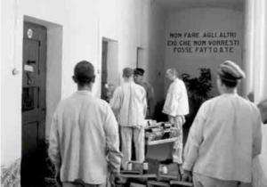 Distribuzione libri al carcere di Gorizia MUSEO CRIMINOLOGICO ROMA
