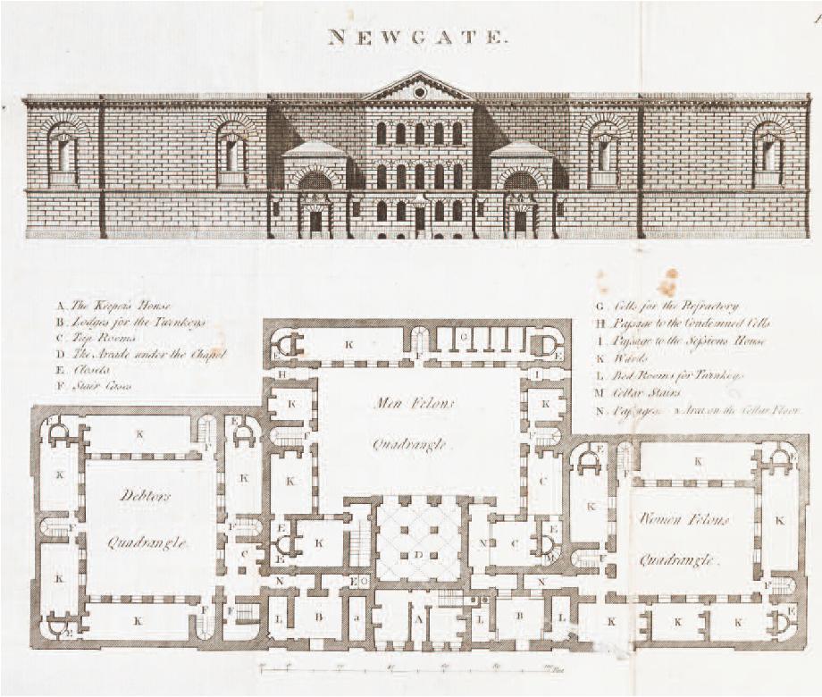 Il Carcewre di Newgate, Progetto (Archivio Cesare Burdese)